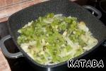 Add kiwi, a little fry
