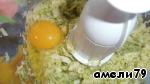 Добавить яйцо и измельчать.