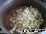 Add the zucchini, stir and simmer for another 10 minutes.