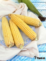 Clean the cobs from the skin.