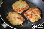 Do not forget to flip and fry on the other side, until it will turn brown.  Put on a napkin to stack the excess fat.