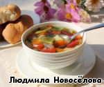 Суп с фасолью и овощами ингредиенты