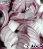 Onion cut into big pieces, peel potatoes and cut into big pieces.