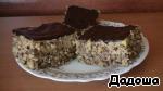 Пирожные собраны. Остывший ганаш взбиваем миксером до более воздушного и кремообразного состояния и наносим на верхнюю часть наших пирожнных. ГОТОВО! Ставим в холод, дать немного схватиться крему и можно есть. Приятного аппетита!