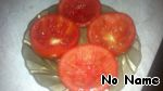 Tomatoes thoroughly wash and dry with a towel. Each tomato cut in half and carefully remove the pulp with a teaspoon.
