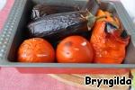 Овощи готовы и остыли.