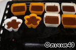 Heat the oven to 180*C, prepare 12-16 of muffin molds.  Distribute the chocolate dough on Martinovi moulds.