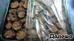Емкость с баклажанами обтянуть пищевой пленкой и отправляем в холодильник на 1 или 2 суток.