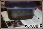 4. Pour in a container, cover and refrigerate for an hour.