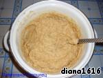 Add flour, gently stir.