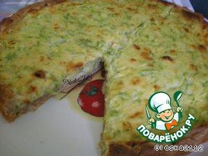 """Пирог """"Кабачок"""" – кулинарный рецепт"""