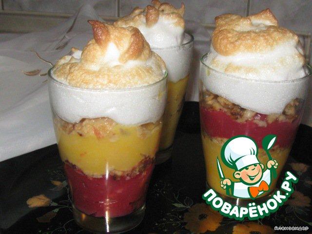 Кремовый десерт Хорошее настроение