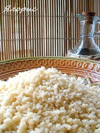 Кус-кус – кулинарный рецепт