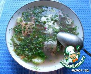 Ботвинья с рыбой – кулинарный рецепт