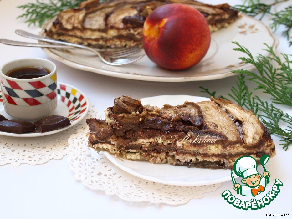 Десерт из баклажанов с рикоттой и шоколадом