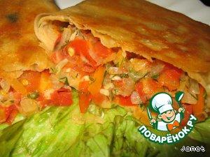 Кесадилья вегетарианская – кулинарный рецепт