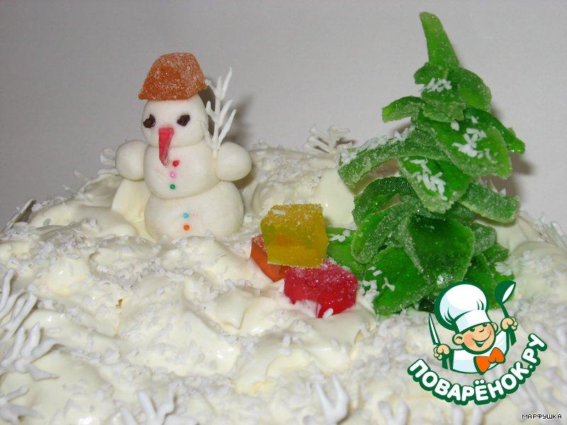 Торт Новогодняя сказка