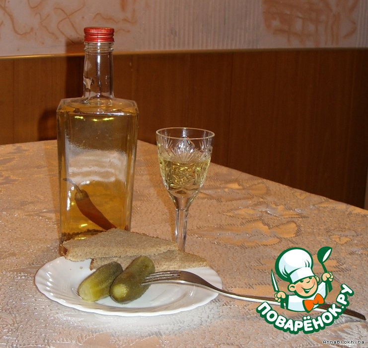 Рецепты перцовой водки в домашних условиях