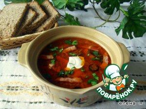 Селянка по-домашнему – кулинарный рецепт