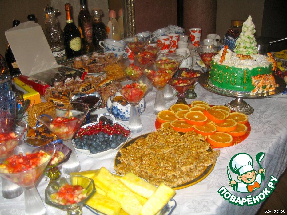 Новогодний торт Год Тигра
