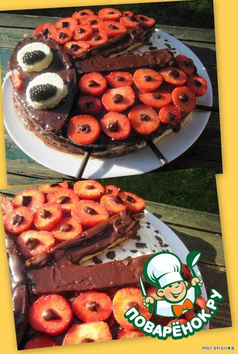 "Торт-экспресс ""Божья коровка"""