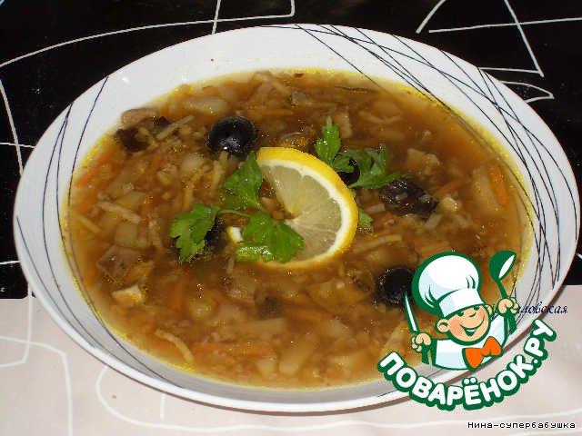 "Суп ""Воспапур"" – кулинарный рецепт"
