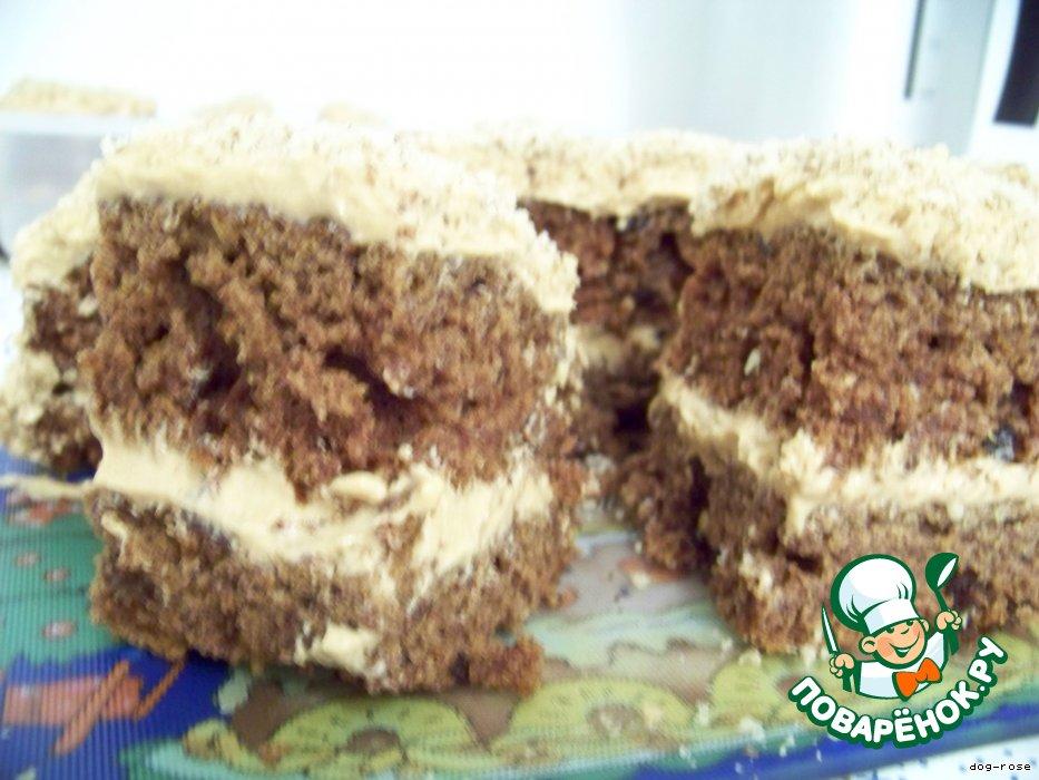 Финиковый торт-пирожное