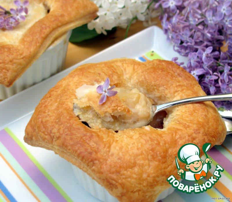 Десерт Ванильные яблочки