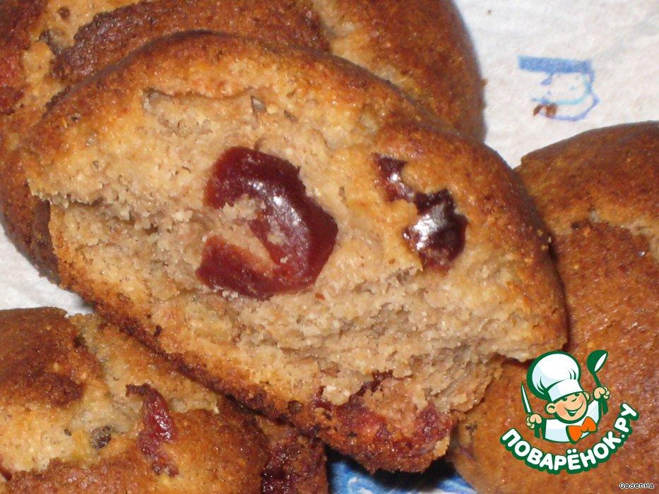 Печенье «Гречневое» с вяленой вишней