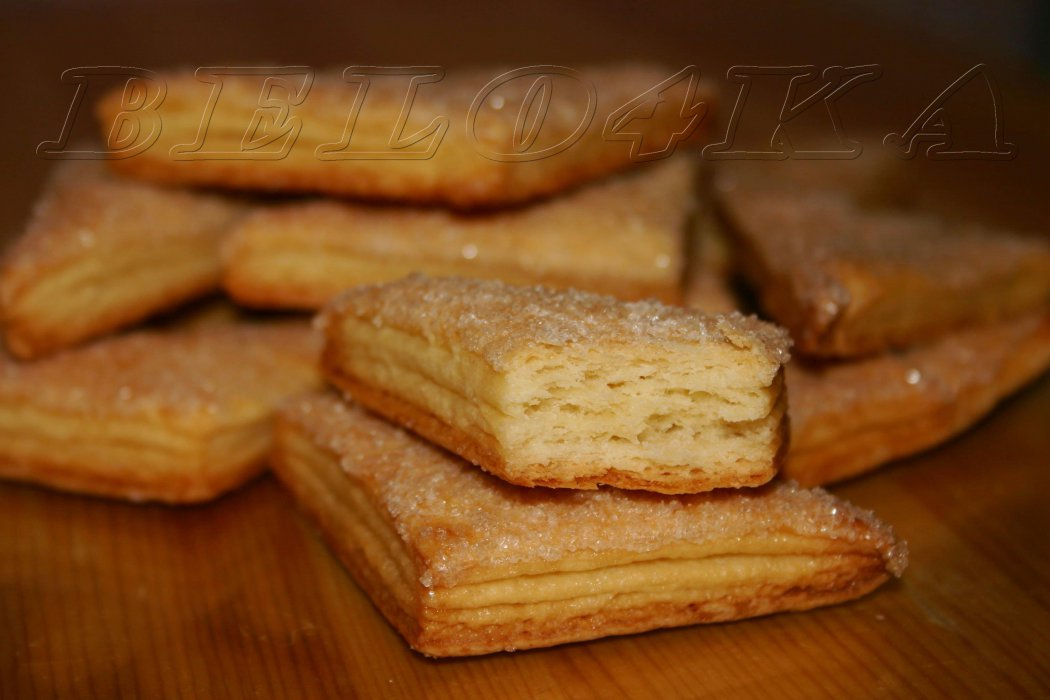 рецепт слоеного печенья с фото