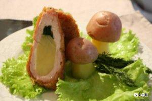 Куриная грудка с картофелем и укропом – кулинарный рецепт