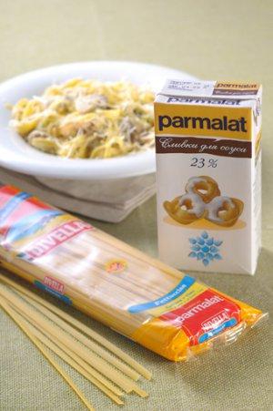 Феттучине с белыми грибами и пореем – кулинарный рецепт
