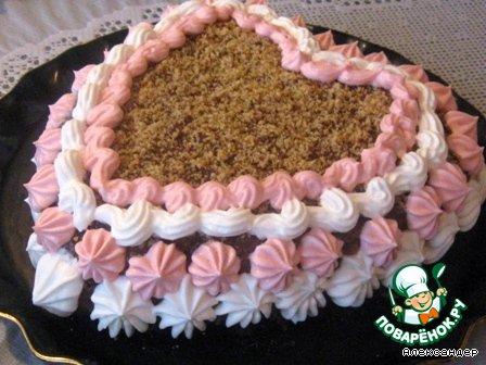 Торт шоколадно-ореховый Встреча