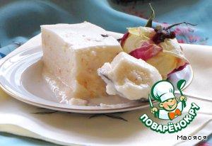 Яблочное суфле с желатином