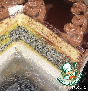 Торт Чудо в яйцах