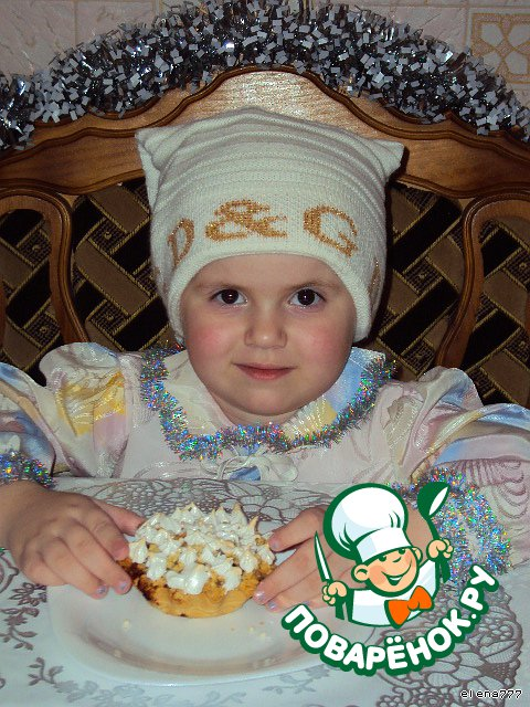 """Пирожные """"Новогодний десерт"""""""