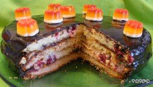 """Торт""""Ассорти"""" – кулинарный рецепт"""