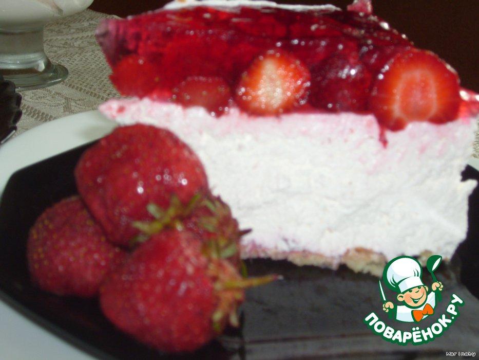 """Торт """"Клубничный восторг"""""""