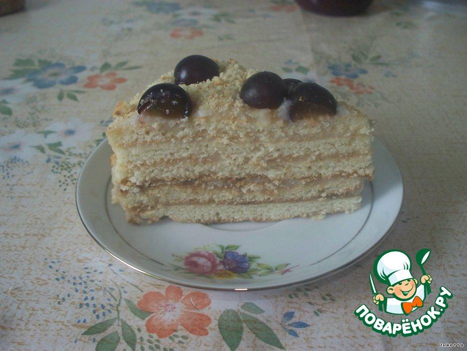 """Тортик """"Сладкоежка"""""""