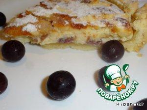 Пирог с виноградом – кулинарный рецепт