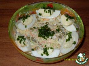 """Салатик """"Важный гусь"""" – кулинарный рецепт"""