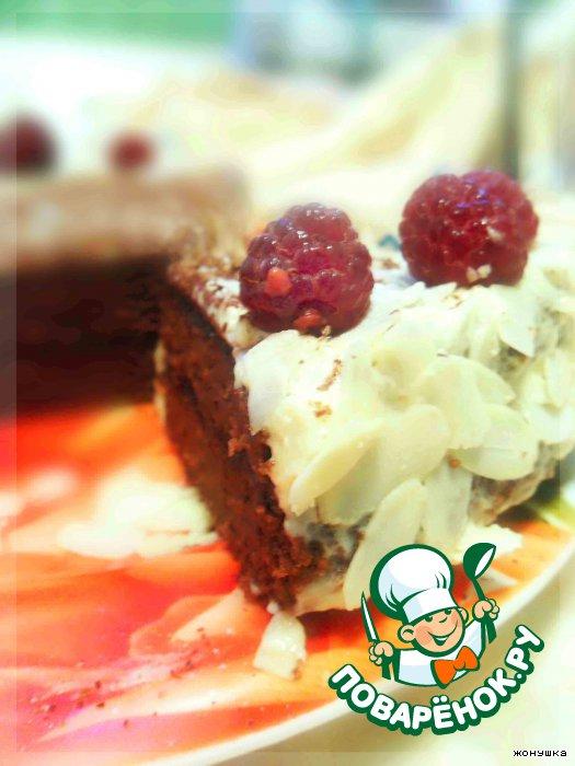 Шоколадный торт на гречневой муке