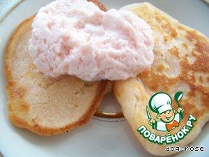 Творожно-йогуртовые оладьи – кулинарный рецепт