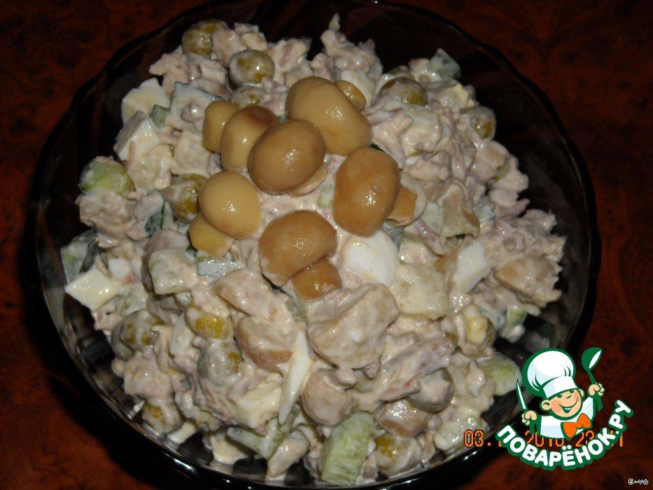 Салат сосновый бор рецепт картинки