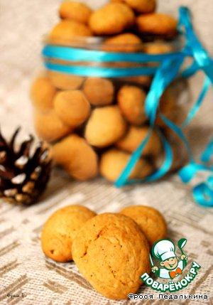"""Датское перечное печенье """"Орешки"""" – кулинарный рецепт"""