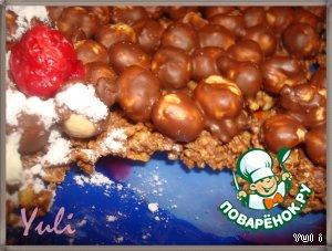 Шоколадно-ореховый торт – кулинарный рецепт