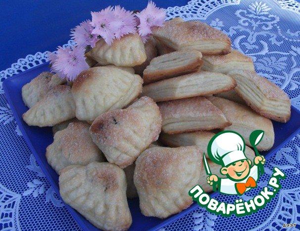 Печенье Ракушки и Слоeночки