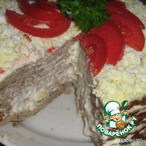 печеночный торт поваренок рецепт фото